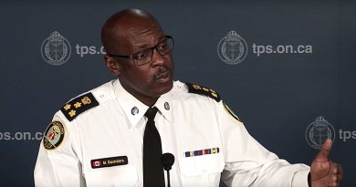 Police chief Saunders on disappearances