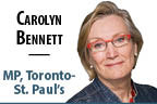 Carolyn Bennett logo