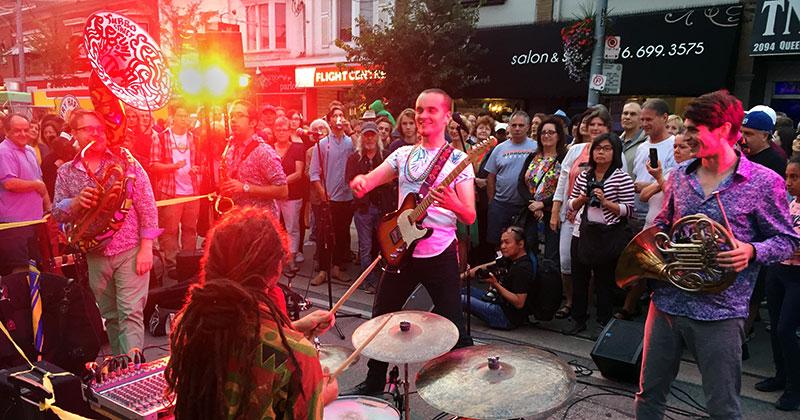 Turbo street Funk Beaches Jazz Festival