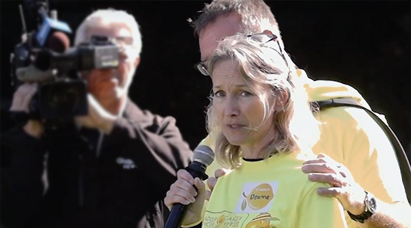 Deanne Puder addresses bladder cancer walk