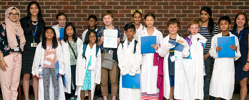Fifth graders at Sunnybrook