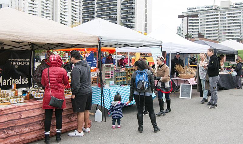 Country fair vendors