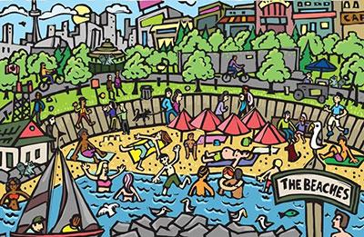 Toronto Raccoons Beaches