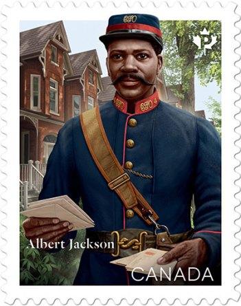 Albert Jackson Stamp