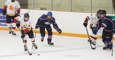 Flames in Midget Senior Red game