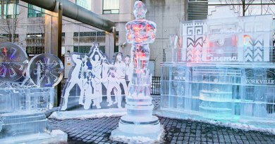 Oscsar at Hollywood-themed Icefest in Yorkville