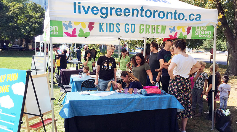 Kids at Live Green