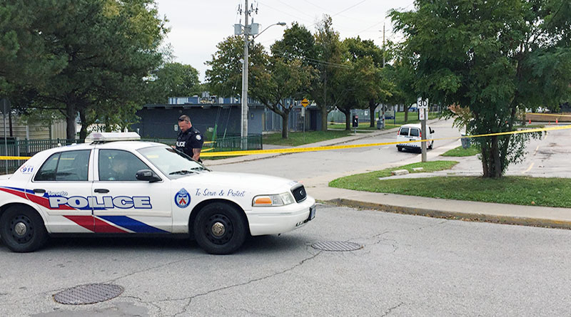 Cedarvale cordoned off by police