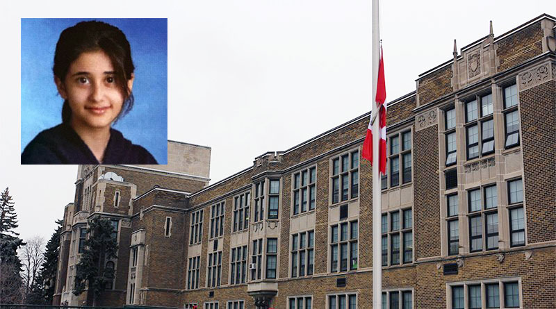 Flag at half mast for Maya Zibaie