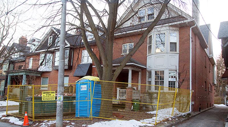 Brunswick house where bones were found