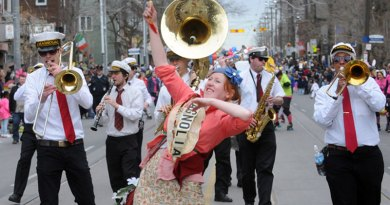 Easter parade 2012