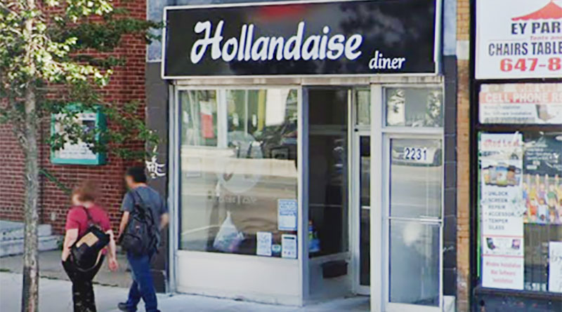 Hollandaise Diner on Danforth