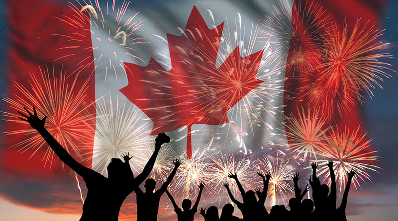 Canada Day graphic for East Yorkers