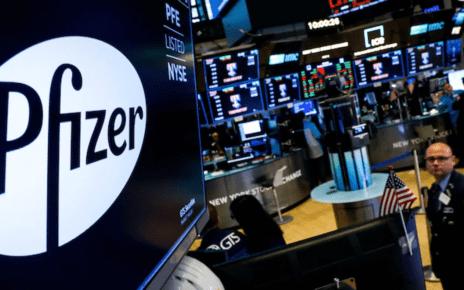 pfizer stock