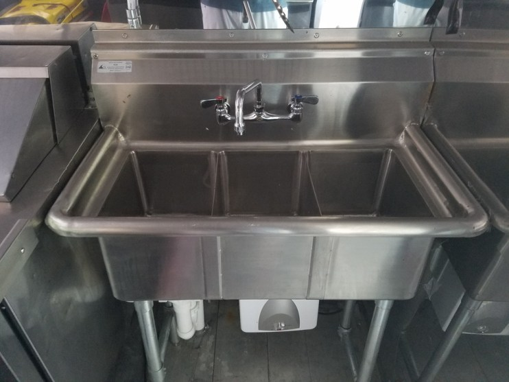How Many Sinks Do You Need In A Food Truck?