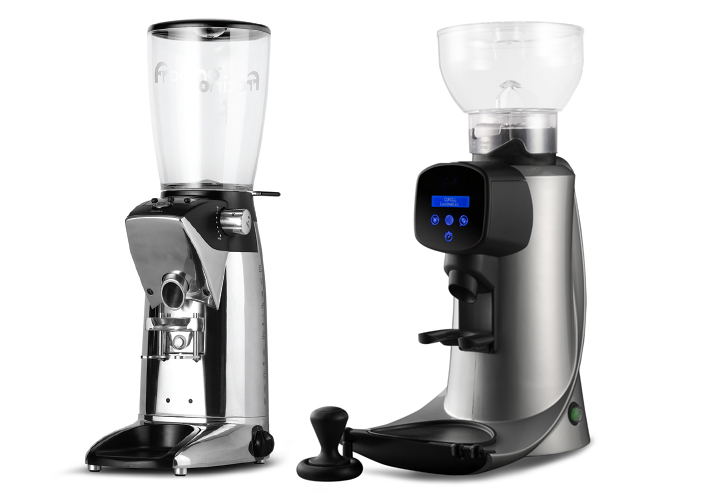 Commercial coffee grinder for mobile coffee shop