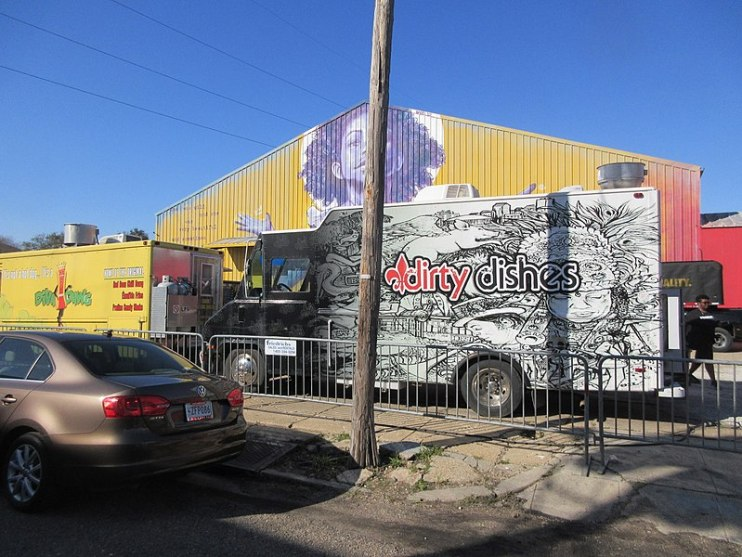 Where To Park Your Food Truck Over Night