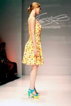 Firas Yousef - Checkered Dress - Boston Fashion Week