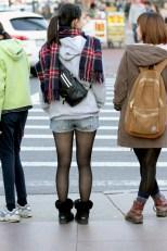 Tattered Shorts & Stockings III