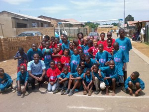 2012 South Africa Soweto Street Handball Roadshow 04