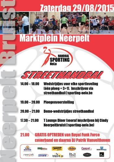 Street Handball Event with Sporting NeLo, Belgium