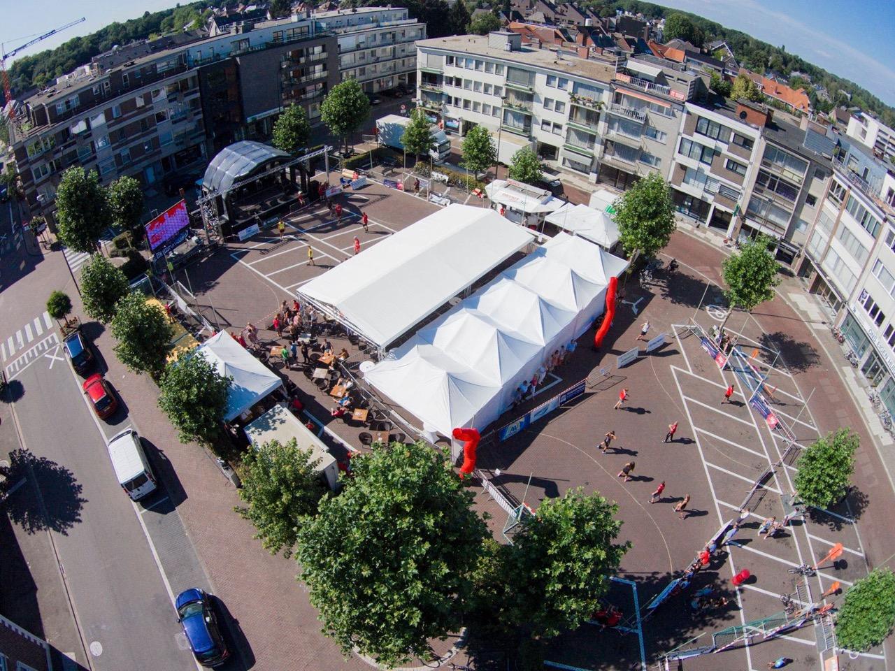drone photo SH street handball event sporting nelo belgium 2015 2