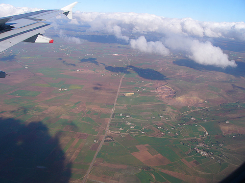 33rd Image Plane over Morocco