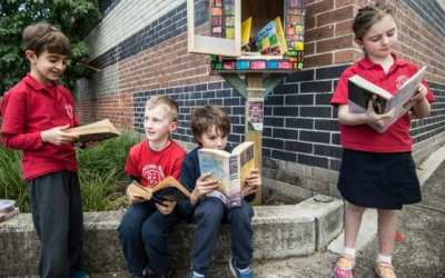 First Australian school to set up a Street Library