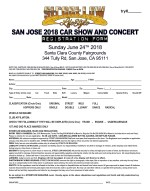 SANJOSE 2018 RegistrationForm