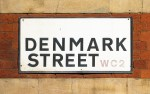 Denmark Street street sign
