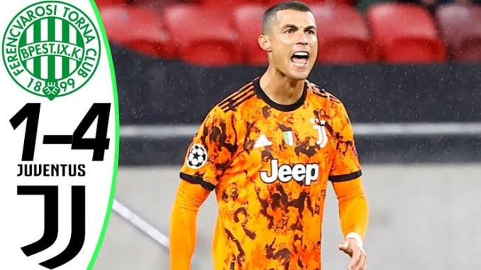 Ferencvaros vs Juventus 1 - 4 | UCL All Goals And Highlights (04-11-2020)