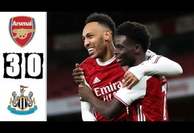 Arsenal 3-0 Newcastle - Highlights & Goals 2021