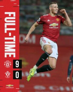 Manchester united 9-0 southampton - Highlights [Download Video]