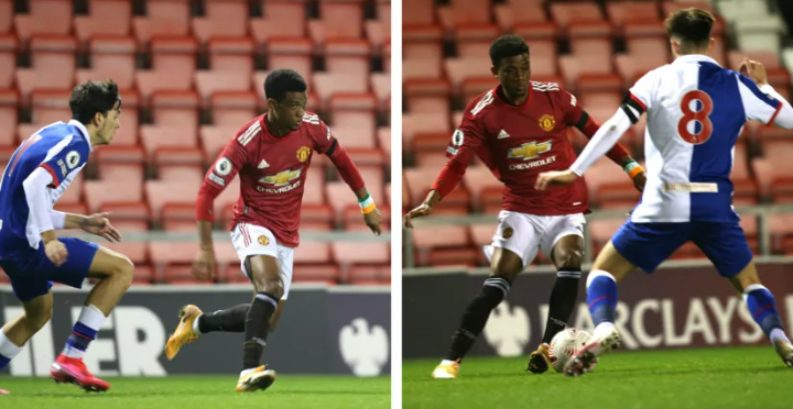 Amad Diallo scores goal and registers hat-trick of assists for Man United's U23s