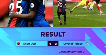 Sheffield United 0-2 Crystal Palace - Goal Highlights [DOWNLOAD VIDEO]