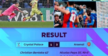 Crystal Palace 1 - 3 Arsenal - Goal Highlights [DOWNLOAD VIDEO]