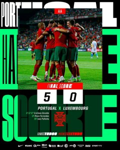 Portugal 5-0 Luxembourg – Goal Highlights [DOWNLOAD VIDEO]