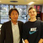 Mr. Shibata und Alexander Pepsiking
