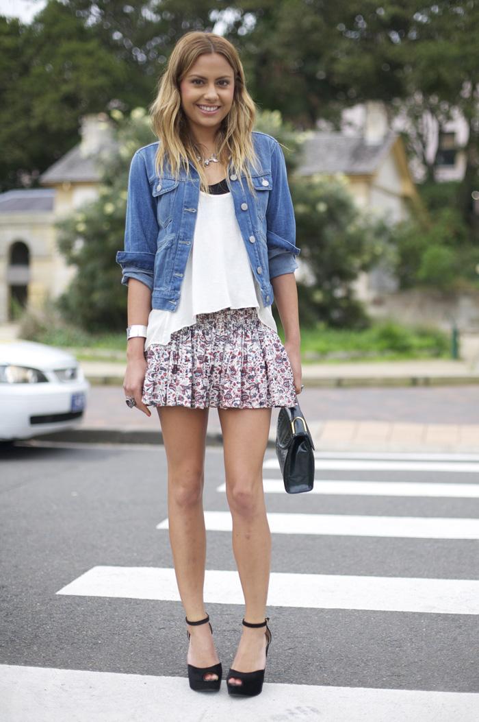 Natalie Marks In Isabel Marant Street Fashion Street