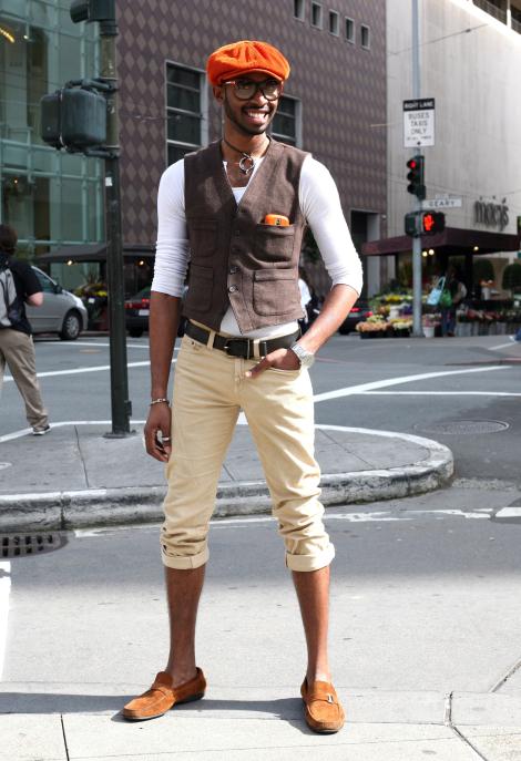 Chad San Francisco Street Fashion Street Peeper