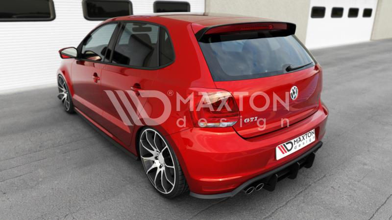 rear diffuser vw polo mk5 gti street performance. Black Bedroom Furniture Sets. Home Design Ideas