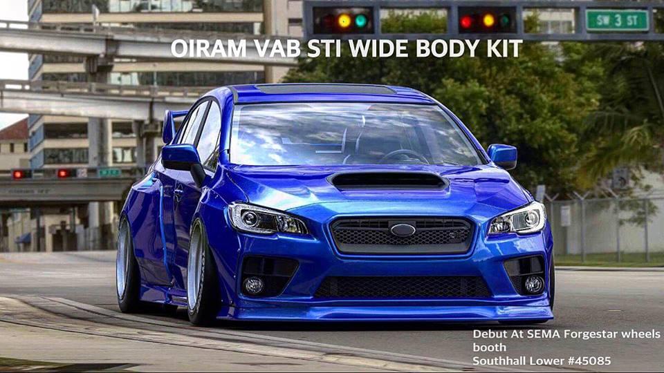 Wide Body Oiram Subaru Impreza 15 Up Street Performance