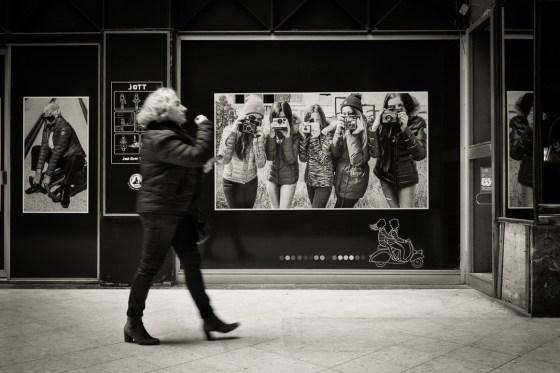 Un exemple de la'application des 3 règles de la photo de rue
