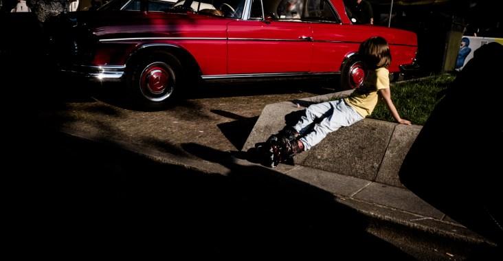 auto straßenfotografie