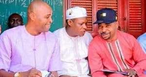 MC Oluomo and Kunle Poly embrace peace
