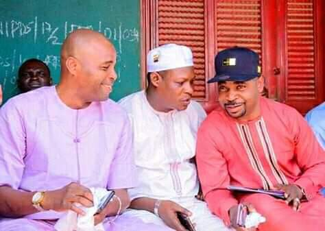 MC Oluomo and Kunle Poly embrace peace