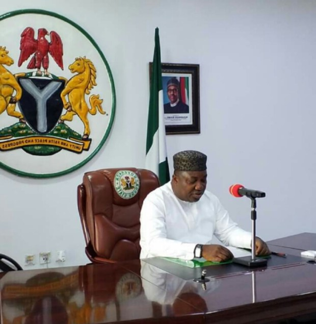 Gov Ifeanyi Ugwuanyi of Enugu State Government Properties yellow Fever