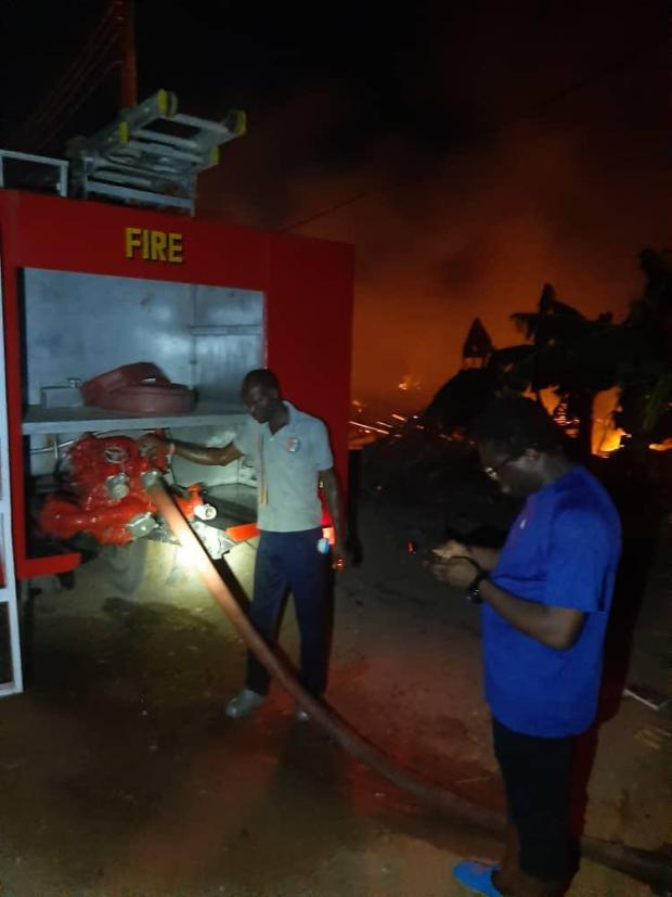 FESTAC Town: Another Devastating Early Morning Inferno Consumes Properties in Lagos 1