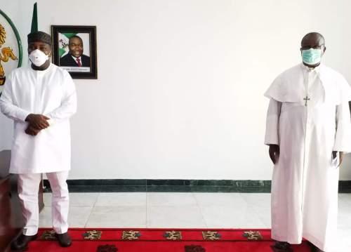 CAN Enugu Visits Ugwuanyi