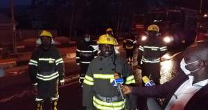 Enugu State Fire Service Men Storm Metropolis and Environs